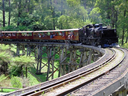 Puffing Billy in Victoria